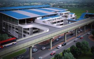 Bangunan Bus Rapid Transit (BRT) - PJ